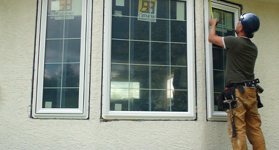 How Cutting Through Stucco Affects Window Replacement A Home With Walls Poses Challenge When Installing New Windows Under The Is Waterproof